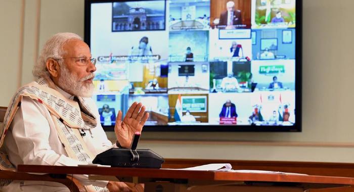 modi tv meeting