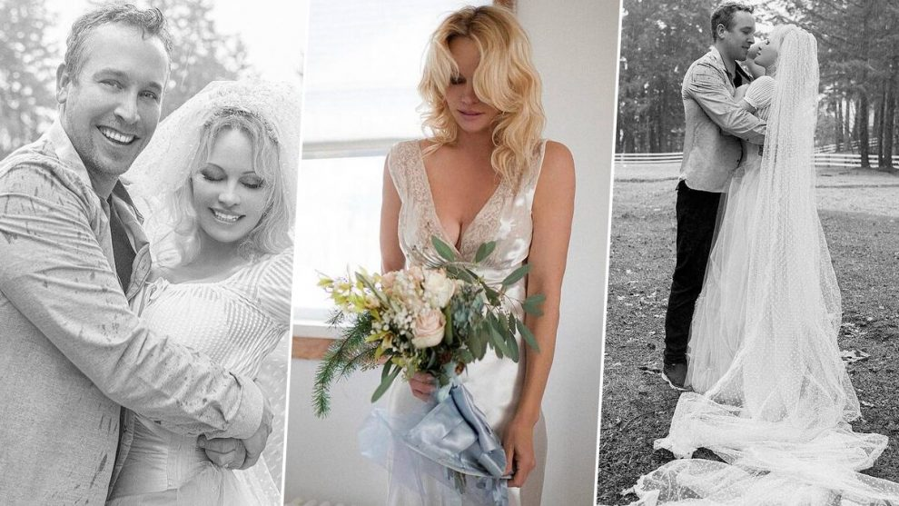 Pamela Anderson Gets Married for the Fifth Time Baywatch Actress 990x557 1