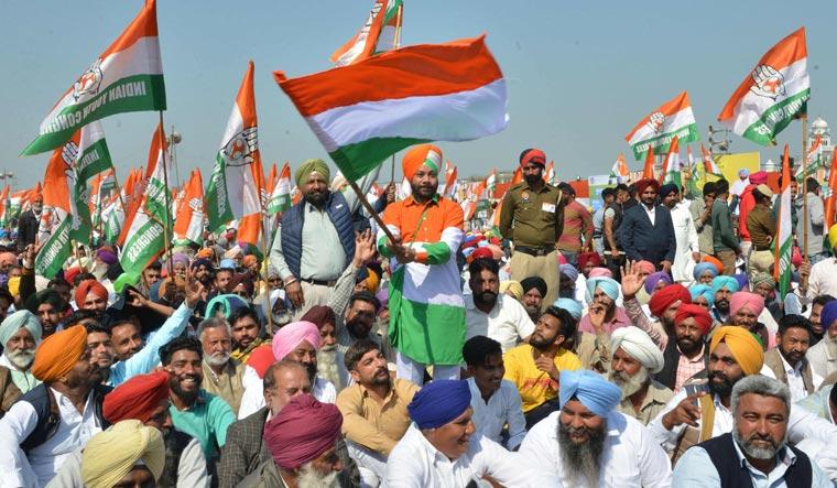 punjab congress rally afp