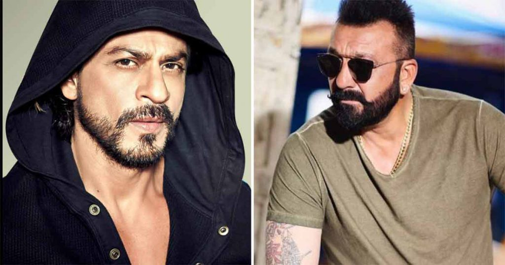 shah rukh khan to unite with baba sanjay dutt for the first time for rakhee001