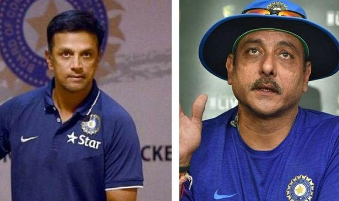 Rahul Dravid and Ravi Shastri