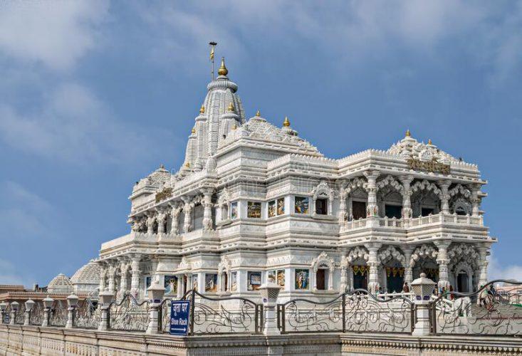 radhe krishna temple mathura