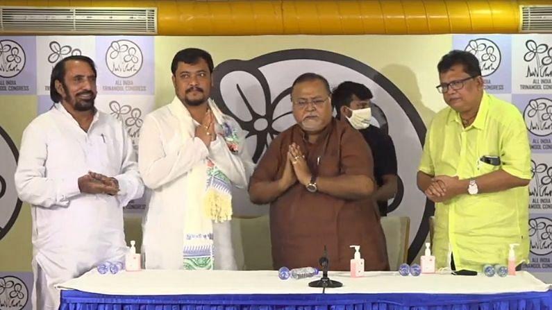 BJP MLA joined TMC