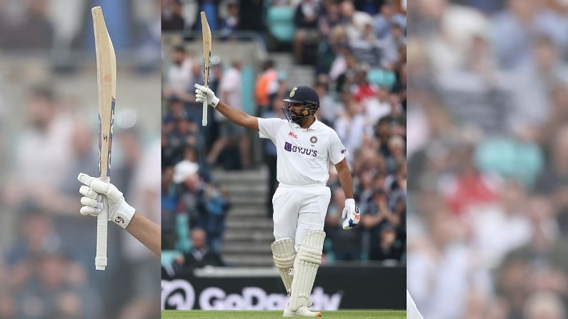 Rohit Sharma hits first overseas hundred during India vs England 2021
