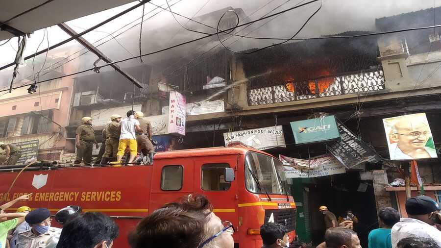 Colootola Street Fire