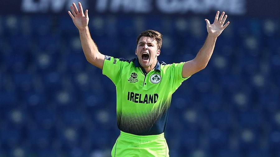 Curtis Campher takes four wickets in four balls vs Netherlands in T20 World Cup