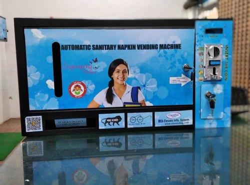 Napkin Vending Machine BJP Delhi