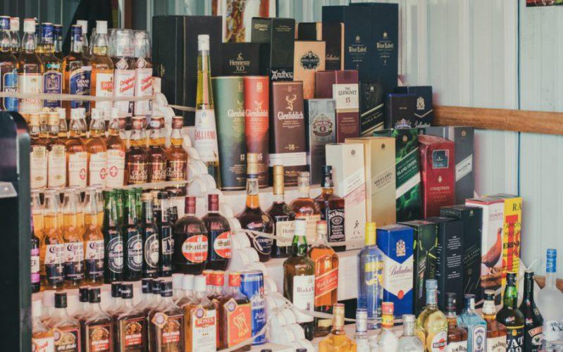 liquor scaled