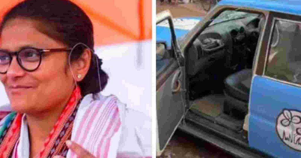 sushmita dev attacked in tripura e1634907087851